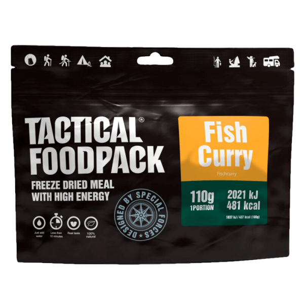 """Tactical Foodpack """"Fisch-Curry"""""""