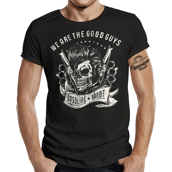 """T-Shirt """"Good Guys"""" von Gasoline Bandit"""