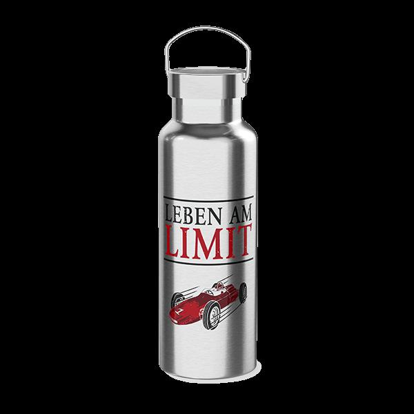 "Thermoflasche ""Leben am Limit"""