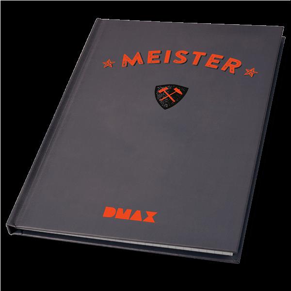 """DMAX Notizbuch """"Meister"""""""