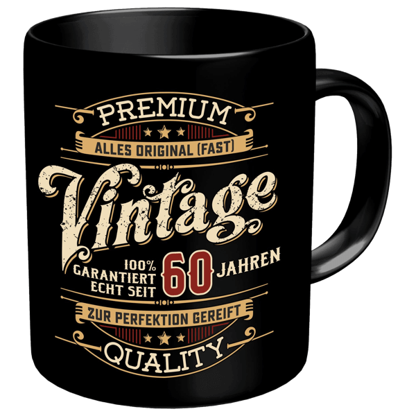 """Tasse """"Vintage"""" 60"""
