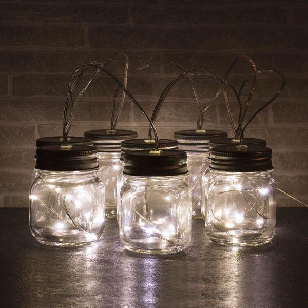 """Lichterkette """"Mason-Jar-Style"""""""