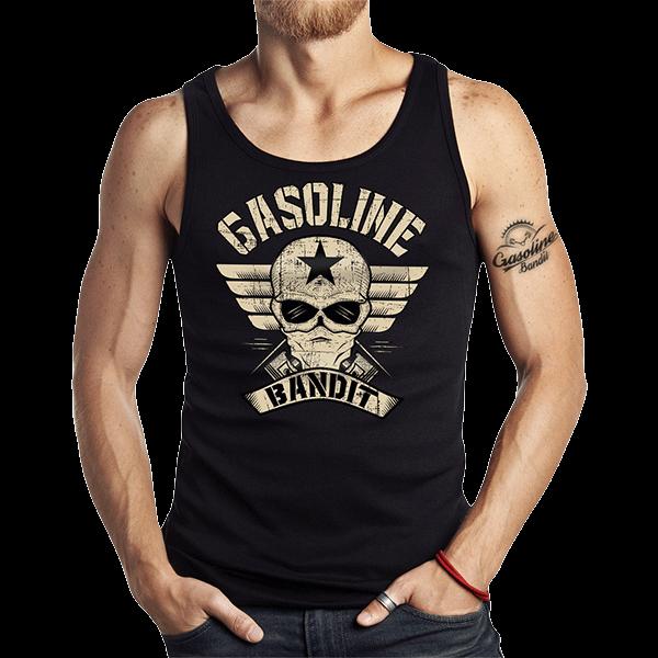 """Tank Top """"Bandit Wing"""" von Gasoline Bandit"""