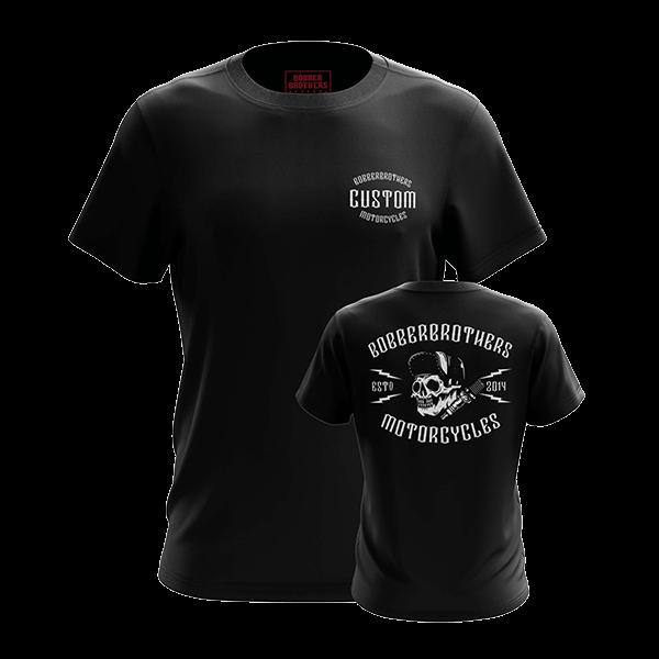 "T-Shirt ""Custom Motorcycles"" von Bobber Brothers"