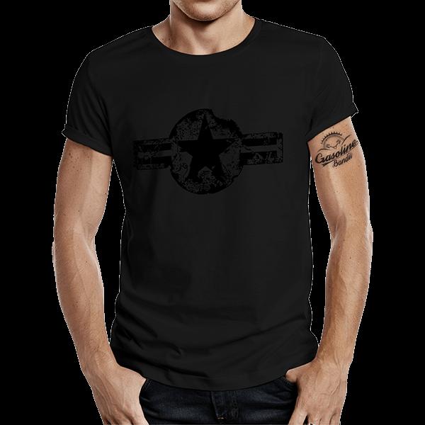 """T-Shirt """"USAF"""" von Gasoline Bandit"""