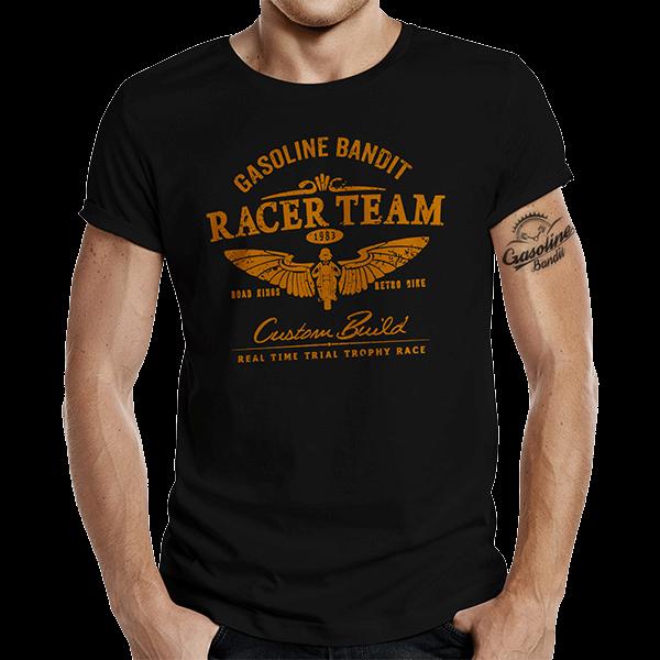 """T-Shirt """"Racer Team"""" von Gasoline Bandit"""
