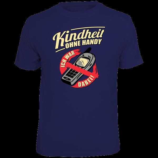"""T-Shirt """"Kindheit ohne Handy"""""""