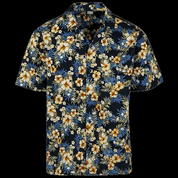 "Beach Shirt ""Flower"" von Urban Classics"