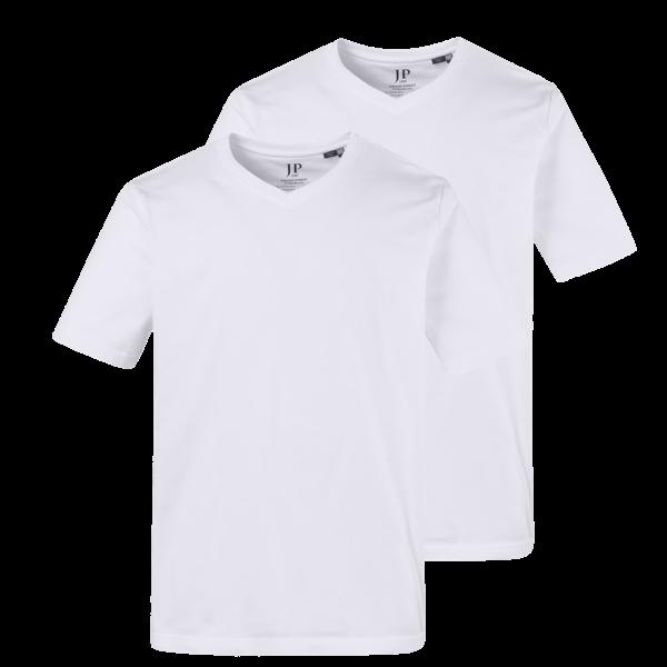 V-Ausschnitt T-Shirts (2er-Pack) von JP1880