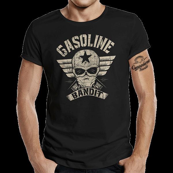 """T-Shirt """"Bandit Wing"""" von Gasoline Bandit"""