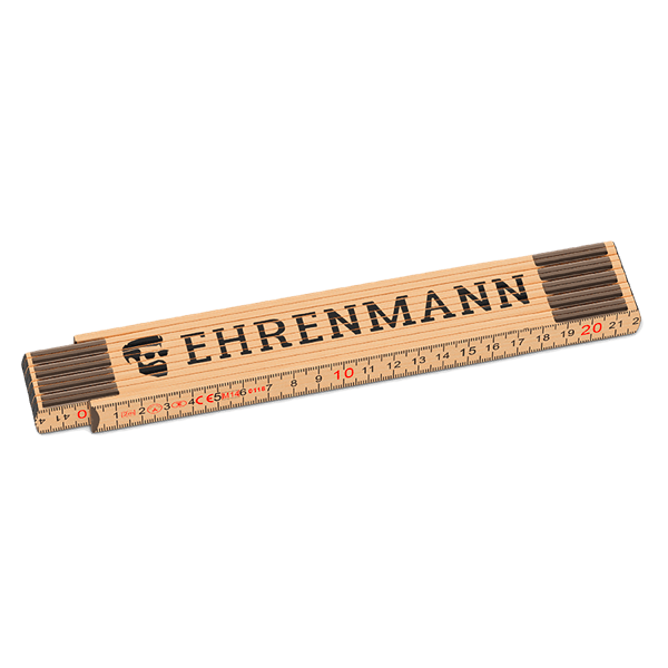 """Zollstock """"Ehrenmann"""""""