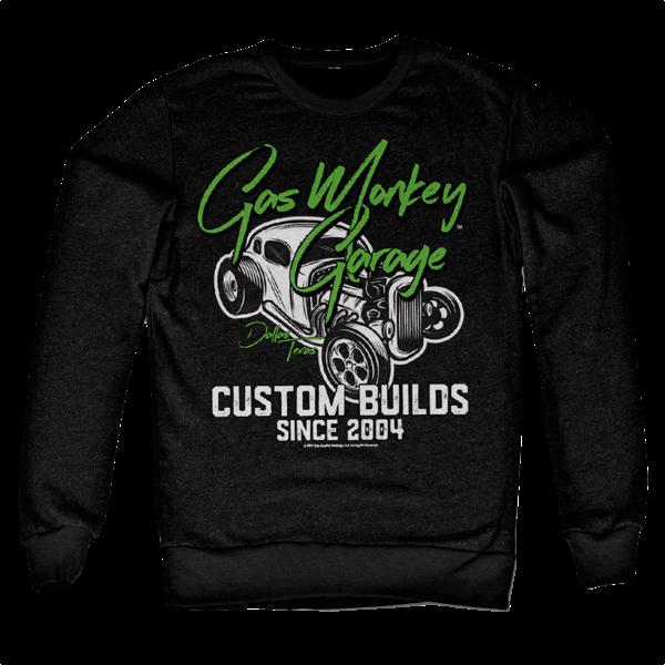 """Gas Monkey Garage Sweatshirt """"Custom Neon"""""""