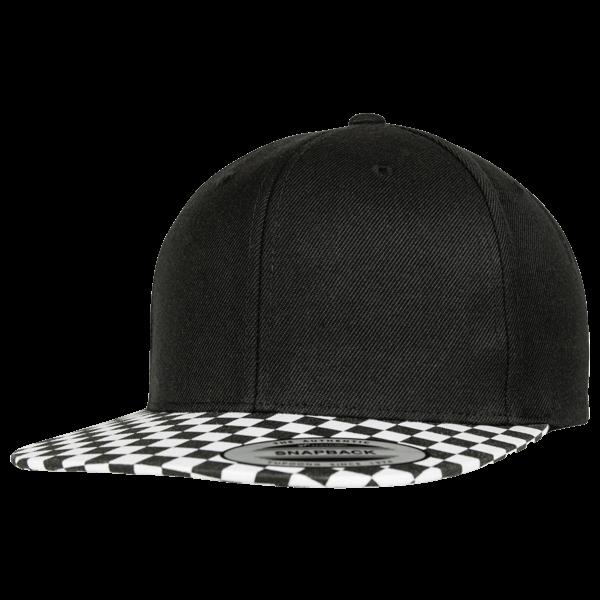 """Snapback Cap """"Checkerboard"""""""