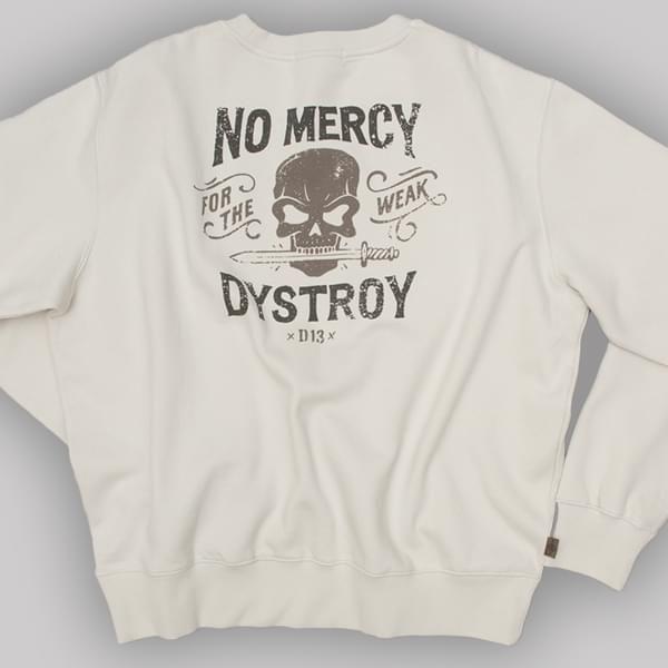 "Sweatshirt ""No Mercy"" (bis XXXL)"