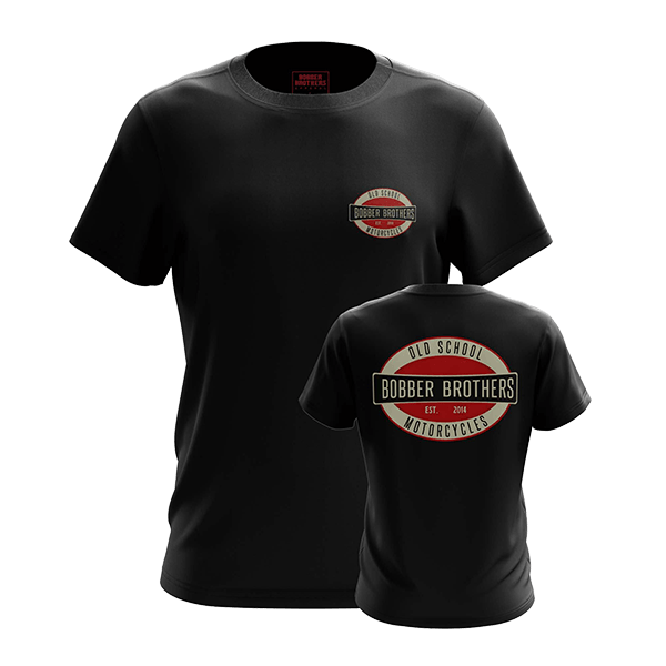 "T-Shirt ""Vintage Logo"" von Bobber Brothers"