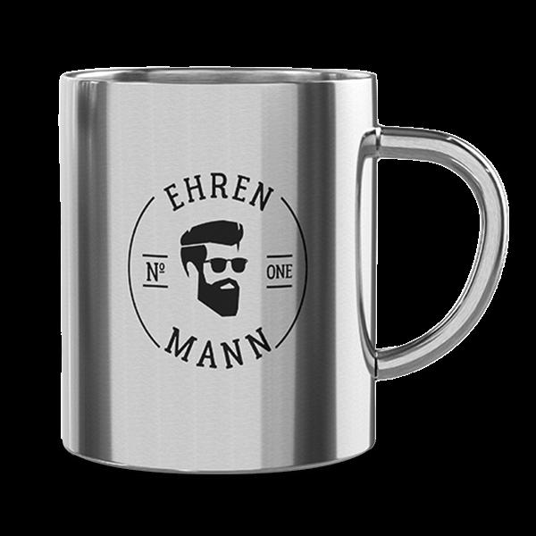"""Edelstahl Thermobecher """"Ehrenmann"""""""