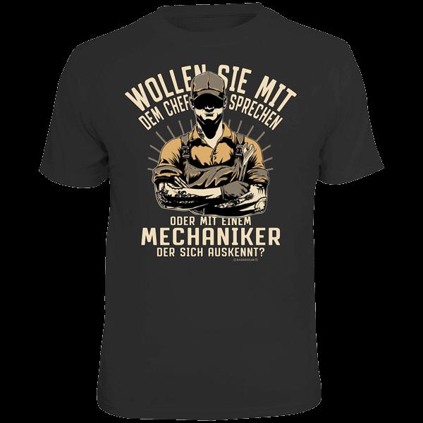 """T-Shirt """"Mechaniker"""""""