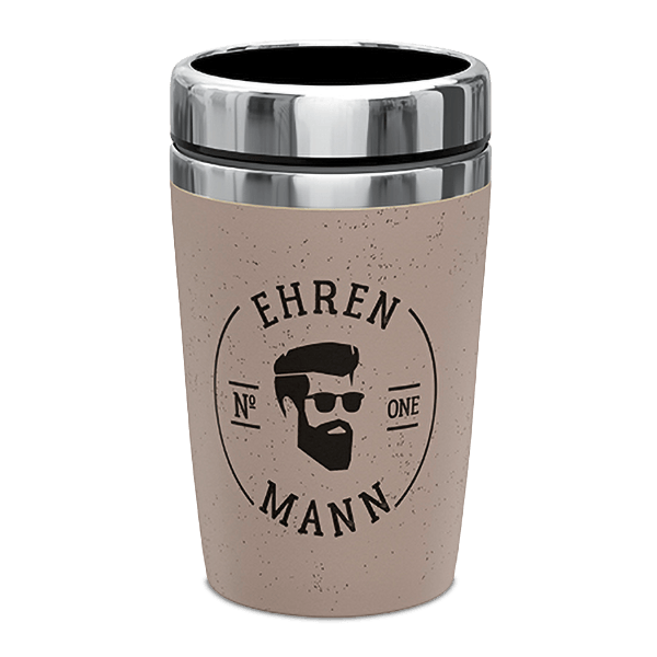 "Coffee-To-Go Thermobecher ""Ehrenmann"""